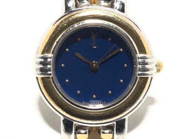 YvesSaintLaurent(サンローラン) 腕時計 5430-F43089 レディース ネイビー
