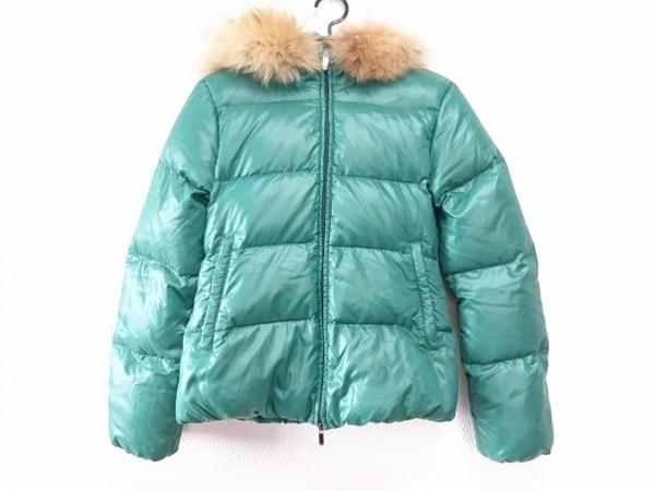 デュベティカ ダウンジャケット サイズ40 M レディース adhara グリーン 冬物