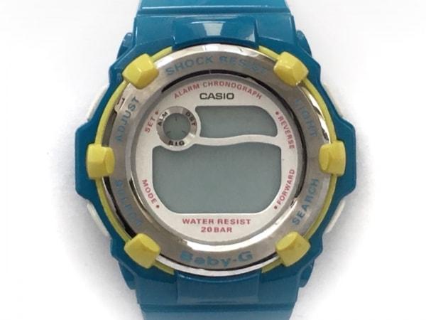 CASIO(カシオ) 腕時計 Baby-G BG-3001A レディース ラバーベルト 白