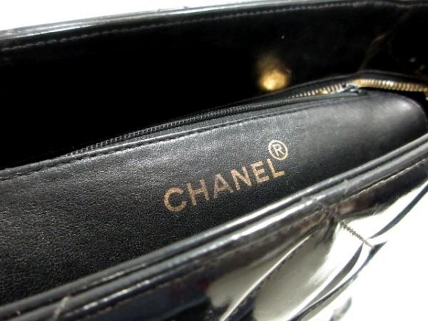 CHANEL(シャネル) トートバッグ 復刻トート 黒 ゴールド金具 7
