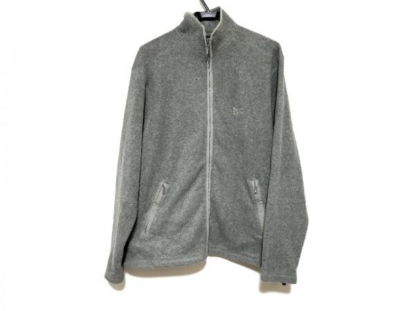 DKNY(ダナキャラン) ブルゾン サイズL レディース美品  グレー 冬物