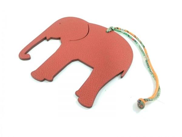 HERMES(エルメス) キーホルダー(チャーム)新品同様  プティアッシュ 象