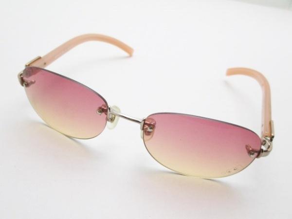 ジルスチュアート サングラス 06-0438 ピンク×ゴールド プラスチック×金属素材