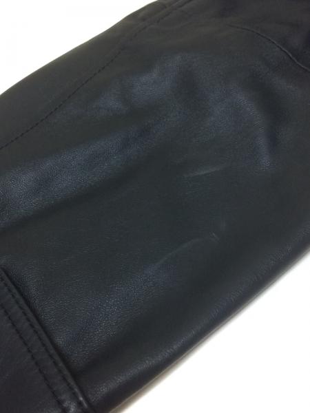 ロエベ コート サイズ50 XL メンズ美品  ネイビー レザー/春・秋物 7