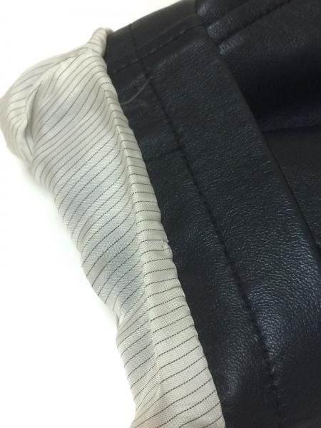 ロエベ コート サイズ50 XL メンズ美品  ネイビー レザー/春・秋物 8
