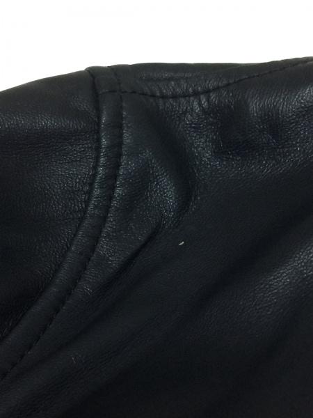 ロエベ コート サイズ50 XL メンズ美品  ネイビー レザー/春・秋物 9