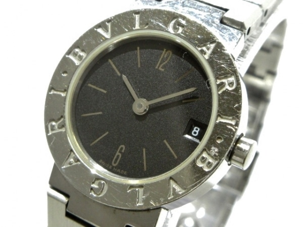 BVLGARI(ブルガリ) 腕時計 BB23SS レディース 黒