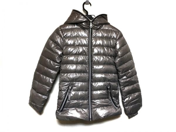 デュベティカ ダウンジャケット サイズ40 M レディース美品  Antia グレーブラウン