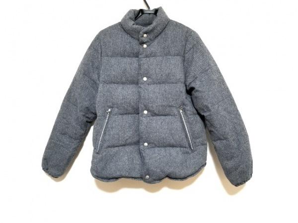 アーバンリサーチ ダウンジャケット サイズM メンズ美品  グレー×ブルー 冬物