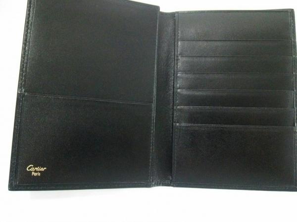 Cartier(カルティエ) 札入れ パシャ 黒 レザー 3