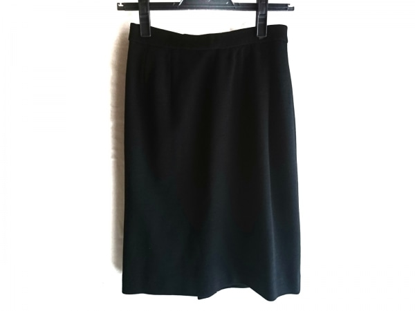 LEONARD(レオナール) ミニスカート サイズ64-91 レディース美品  黒