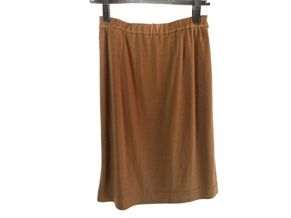 LEONARD(レオナール) ミニスカート サイズ38 M レディース美品  ブラウン