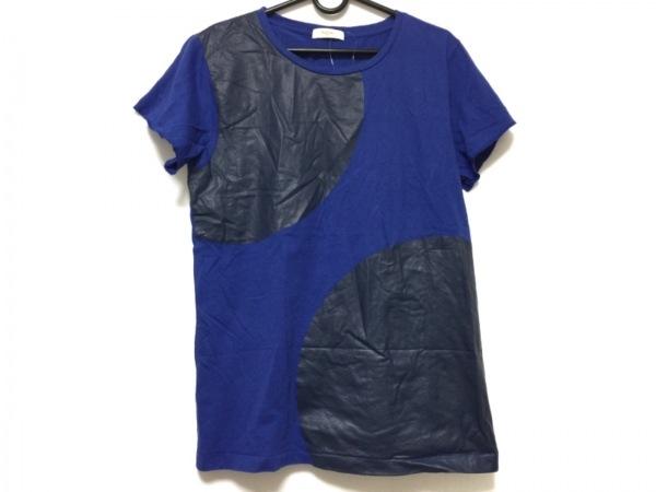 PaulSmith(ポールスミス) 半袖Tシャツ サイズM レディース ブルー×黒