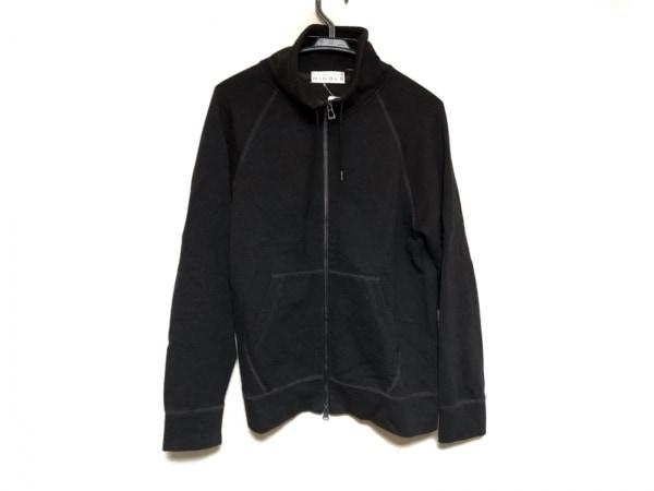 ムッシュニコル ブルゾン サイズ48 XL メンズ美品  黒×ダークブラウン 春・秋物