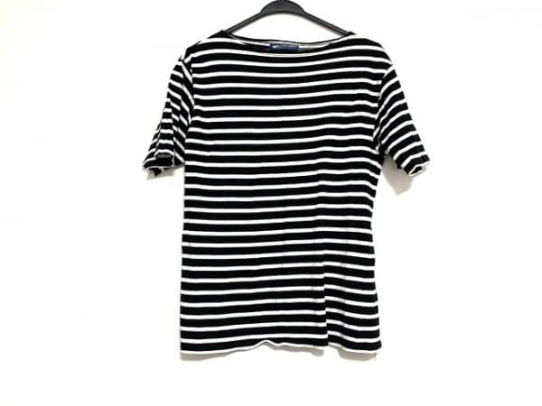 セントジェームス 半袖Tシャツ サイズM レディース美品  黒×白 ボーダー