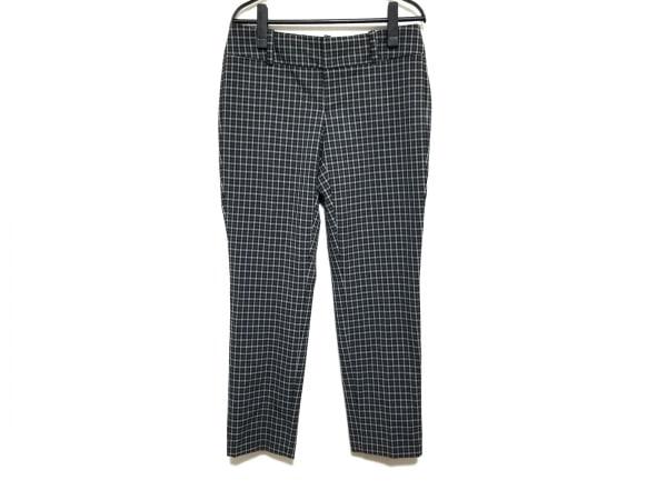 CalvinKlein(カルバンクライン) パンツ サイズ2 M レディース 黒×ライトグレー×白