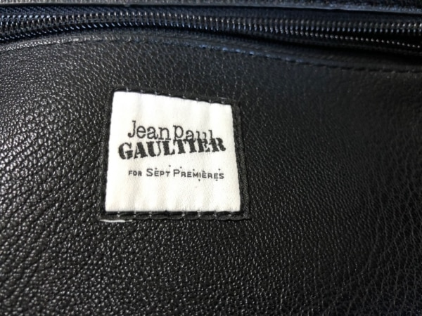 JeanPaulGAULTIER(ゴルチエ) ハンドバッグ 白×マルチ コーティングキャンバス