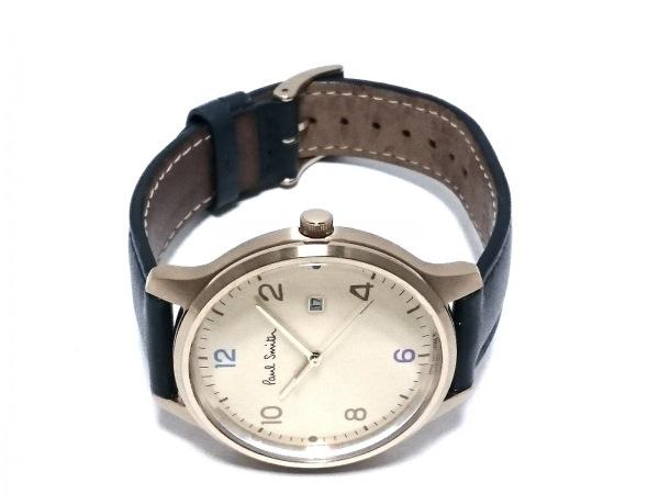 PaulSmith(ポールスミス) 腕時計 2510-T023754 メンズ 革ベルト アイボリー