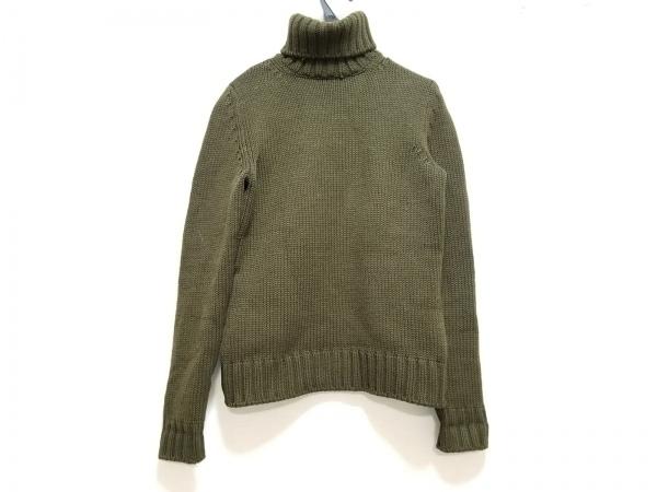 CELINE(セリーヌ) 長袖セーター サイズM レディース ダークブラウン タートルネック