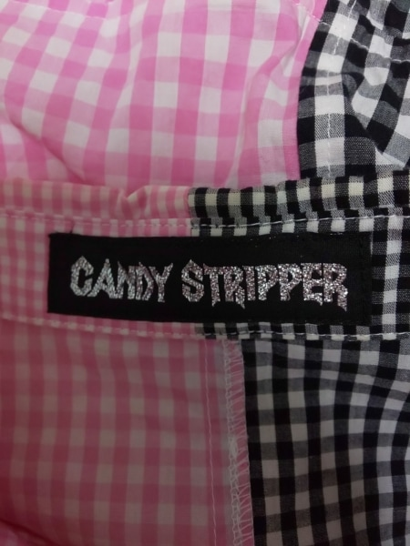 キャンディストリッパー ワンピース サイズS レディース 黒×ピンク×白