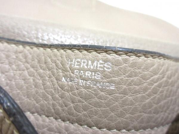 HERMES(エルメス) ハンドバッグ - グレー レザー 7