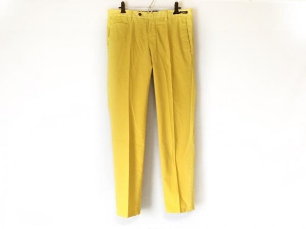 ピーティーゼロウーノ パンツ サイズ46 XL メンズ リーフ(REEF) イエロー ストレッチ