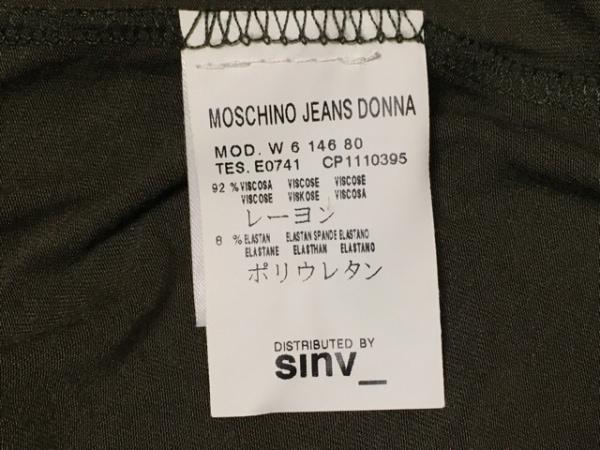 MOSCHINO(モスキーノ) カーディガン サイズUSA10 L レディース カーキ JEANS