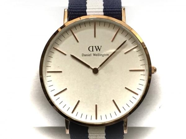 Daniel Wellington(ダニエルウェリントン) 腕時計 メンズ アイボリー