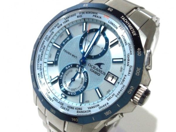 CASIO(カシオ) 腕時計 オシアナス OCW-S2000 メンズ ライトブルー