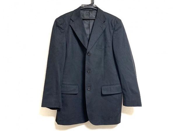 Burberry LONDON(バーバリーロンドン) ジャケット サイズM メンズ美品  黒 ストライプ