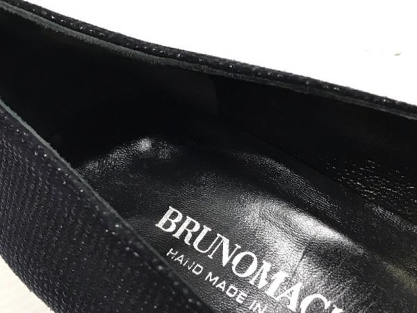 BRUNOMAGLI(ブルーノマリ) パンプス 7 B レディース ダークネイビー×黒 スエード