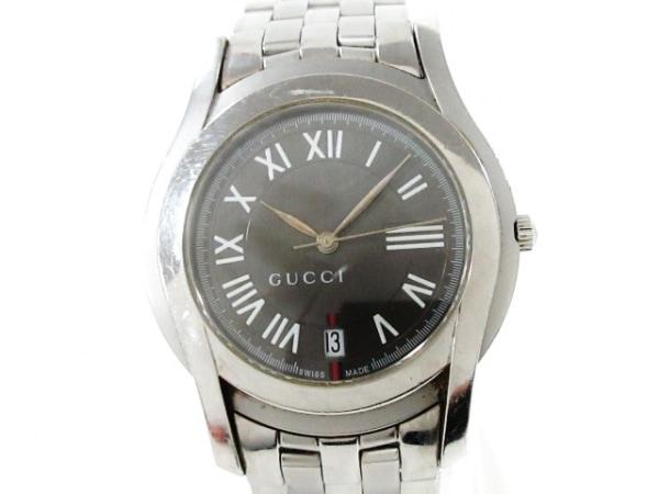 GUCCI(グッチ) 腕時計 Gクラス 5500M メンズ グレー