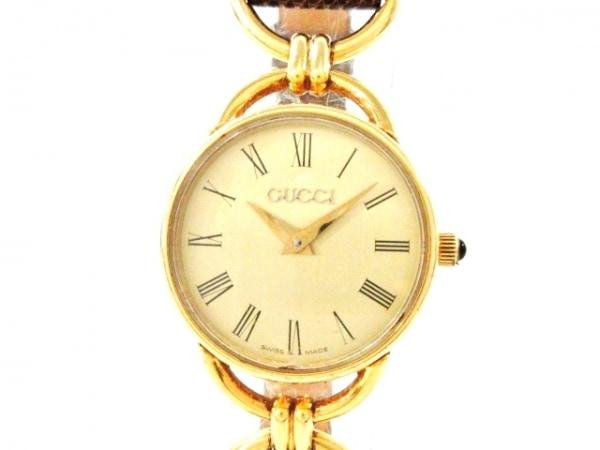 GUCCI(グッチ) 腕時計 6000.2L レディース ゴールド
