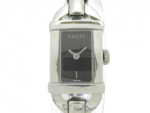 GUCCI(グッチ) 腕時計美品  6800L レディース 黒