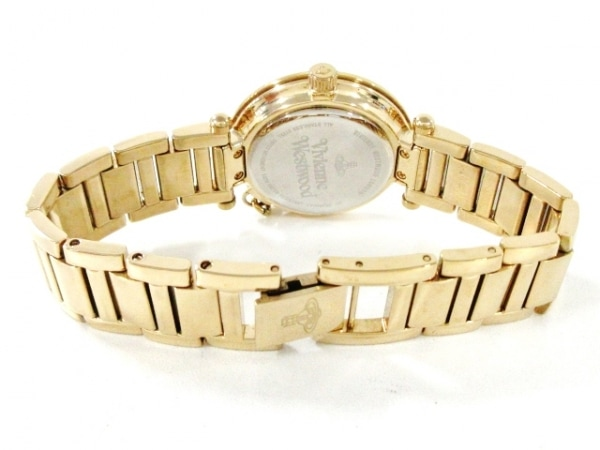 VivienneWestwood(ヴィヴィアン) 腕時計 VV006KGD レディース アイボリー