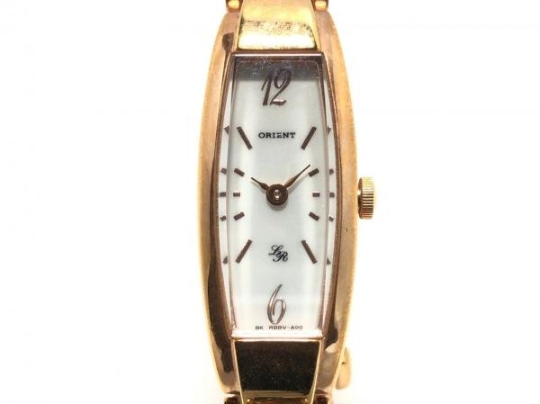 オリエント 腕時計 Lady Rose RBBV-R0 CS レディース シェル文字盤 ホワイトシェル