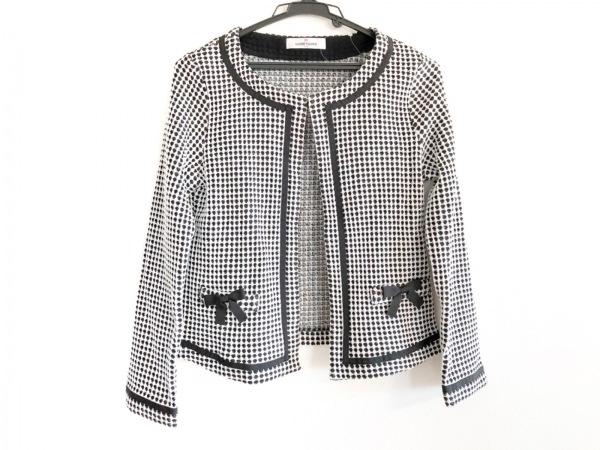 ギャラリービスコンティ ジャケット サイズ2 M レディース美品  黒×白