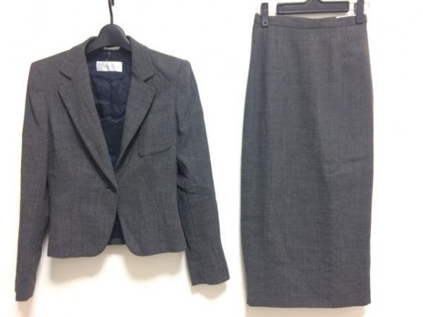 Max Mara(マックスマーラ) スカートスーツ サイズ38 S レディース 黒×白