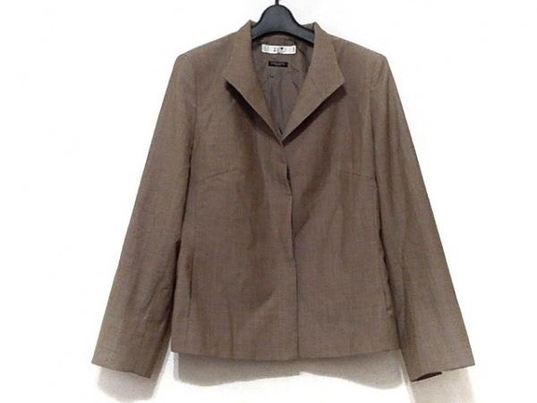 23区(ニジュウサンク) ジャケット サイズ46 XL レディース ダークブラウン 肩パッド