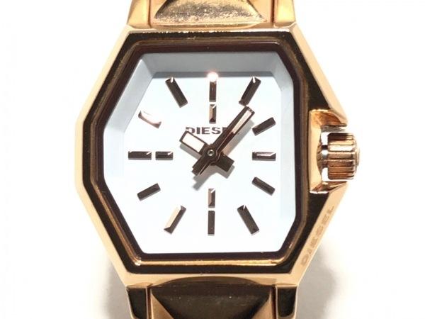 DIESEL(ディーゼル) 腕時計 DZ-5350 レディース 白