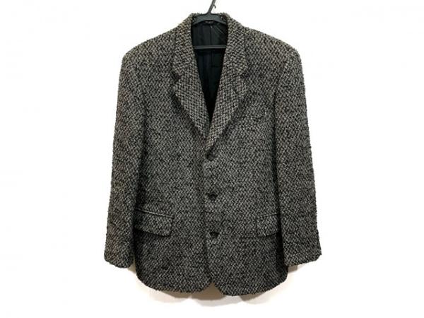 コムデギャルソンオム ジャケット サイズM メンズ 黒×ダークグレー