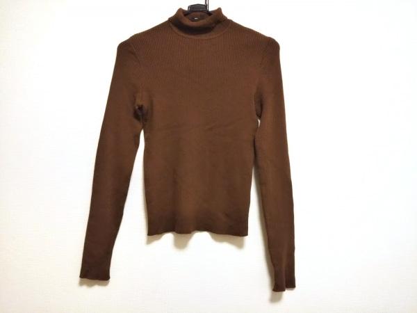 ETRO(エトロ) 長袖セーター サイズ44 L レディース美品  ブラウン タートルネック