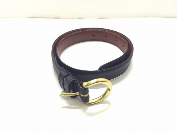 COACH(コーチ) ベルト SMALL 黒 レザー
