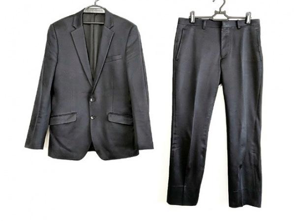 TETE HOMME(テットオム) シングルスーツ サイズ92 A5 メンズ 黒