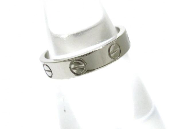 Cartier(カルティエ) リング 49新品同様  ミニラブ K18WG