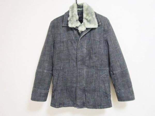 ムッシュニコル コート サイズ46 XL メンズ ダークグレー 冬物/デニム