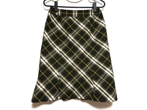 バーバリーロンドン スカート サイズ38 L レディース美品  チェック柄