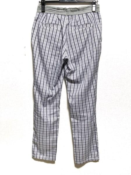 トゥデイフル パンツ サイズ38 M レディース美品  アイボリー×グレー×ネイビー