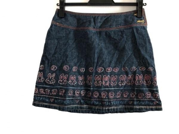 HYSTERIC GLAMOUR(ヒステリックグラマー) スカート サイズS レディース ブルー