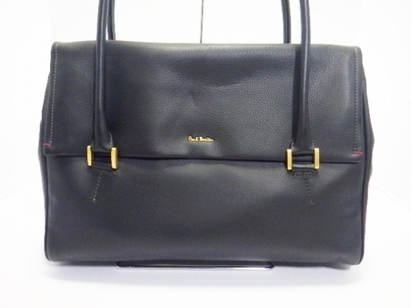 PaulSmith(ポールスミス) ハンドバッグ美品  黒 レザー